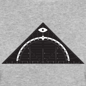 All Seeing Triangle T-shirts - Organic damer