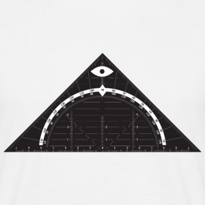 All Seeing Triangle T-Shirts - Männer T-Shirt