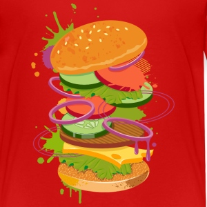 A Burger Graffiti Shirts - Kids' Premium T-Shirt