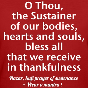 O THOU THE SUSTAINER - T-shirt ecologica da donna