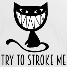 nasty grinning cat T-Shirts