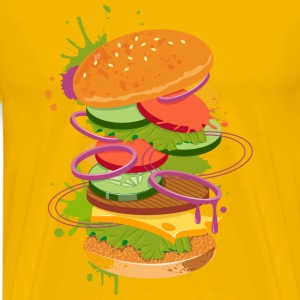 A Burger Graffiti T-Shirts - Men's Premium T-Shirt