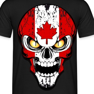 canada skull Tee shirts - T-shirt Homme