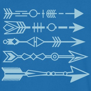 five arrows in tattoo style T-Shirts - Men's V-Neck T-Shirt