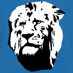 Lion T-Shirts - Men's V-Neck T-Shirt