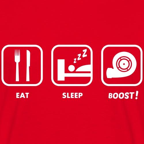 JDM Eat, Sleep, BOOST!    T-shirts JDM