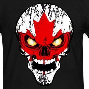 canada skull 03 Tee shirts - T-shirt contraste Homme