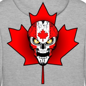 canada skull 02 Sweat-shirts - Sweat-shirt à capuche Premium pour hommes