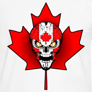 canada skull 02 Tee shirts - T-shirt contraste Homme