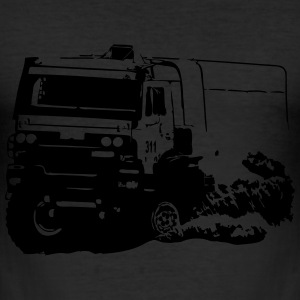 Rally Dakar - Truck Race T-Shirts - Men's Slim Fit T-Shirt