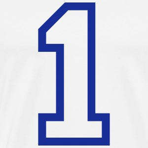THE NUMBER 1-ONE Tee shirts - T-shirt Premium Homme