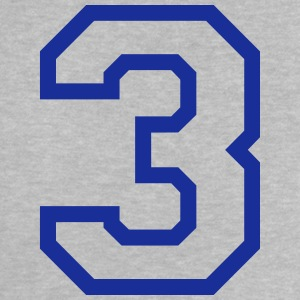THE NUMBER 3-3 Shirts - Baby T-Shirt