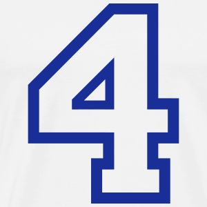 THE NUMBER 4-4 T-Shirts - Men's Premium T-Shirt