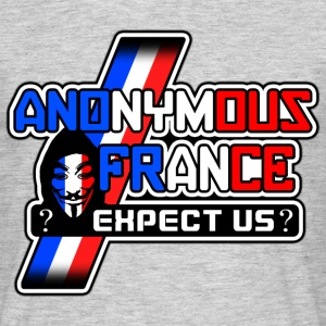 anonymous france Tee shirts - T-shirt Homme