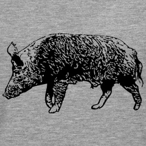 Wild Boar Long sleeve shirts - Men's Premium Longsleeve Shirt