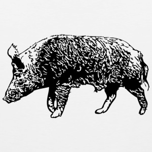 Wild Boar Tank Tops - Men's Premium Tank Top