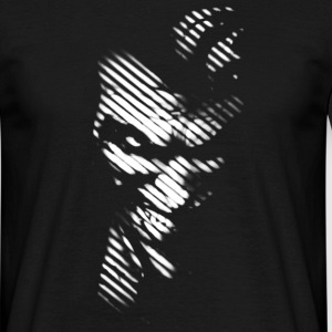 Joker black & white herre T-shirt - Herre-T-shirt