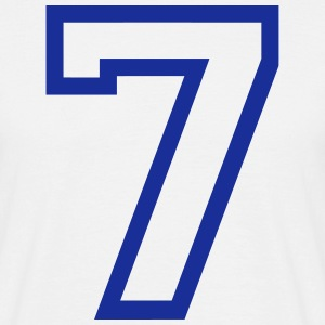 THE number seven, 7 years Camisetas - Camiseta hombre