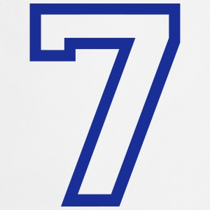THE number seven, 7 years  Aprons - Cooking Apron