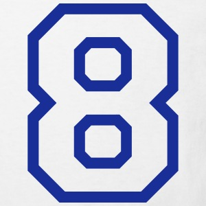 THE NUMBER EIGHT-8 Tee shirts - T-shirt Bio Enfant