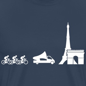 Tour de France Evolution T-shirts - Premium-T-shirt herr