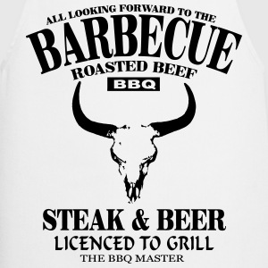 Barbecue - Steak & Beer  Aprons - Cooking Apron