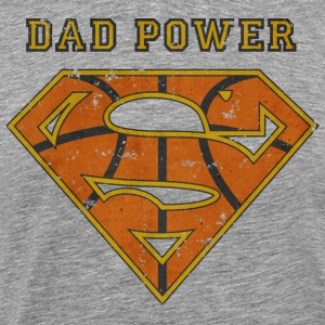 Superman Super Dad Power - T-shirt Premium Homme