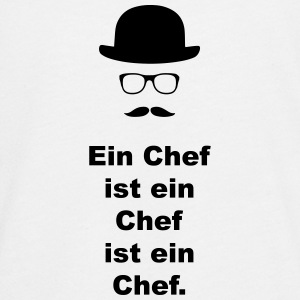 Chef. - Teenager Premium Langarmshirt