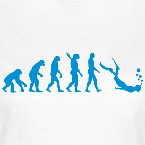 Evolution Schnorcheln T-Shirts - Frauen T-Shirt