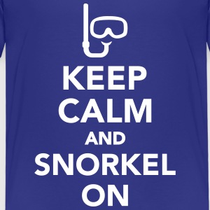 Keep calm and snorkel on T-Shirts - Kinder Premium T-Shirt