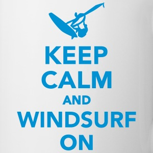 Keep calm and Windsurf on Tassen & Zubehör - Tasse