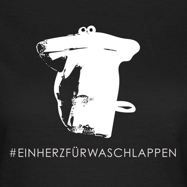 """T-Shirt """"Ein Herz für Waschlappen"""""""