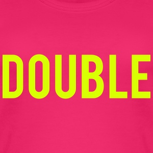 Double Trouble Tops - Women's Organic Tank Top
