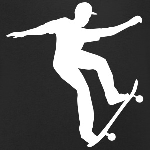 Skateboarding, Skateboarder T-Shirts - Men's V-Neck T-Shirt