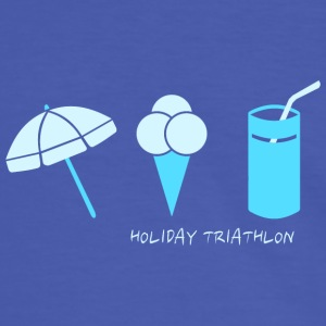HOLIDAY TRIATHLON  T-Shirts - Männer Kontrast-T-Shirt