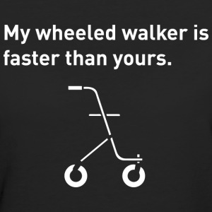 Wheeled Walker. - Women's Organic T-shirt