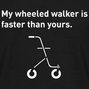 Wheeled Walker - Men's T-Shirt