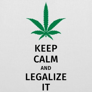 keep calm and legalize it Bags & Backpacks - Tote Bag