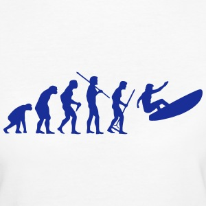 WINDSURFER EVOLUTION Tee shirts - T-shirt Bio Femme