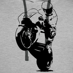 Moto-GP Racing Hoodies & Sweatshirts - Men's Premium Hoodie
