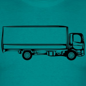 Truck truck two-axle T-Shirts - Men's T-Shirt