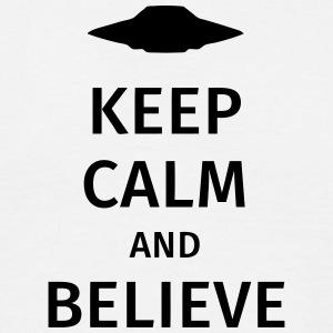 keep calm and believe Tee shirts - T-shirt Homme