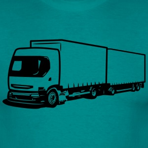 Truck truck trailer T-Shirts - Men's T-Shirt