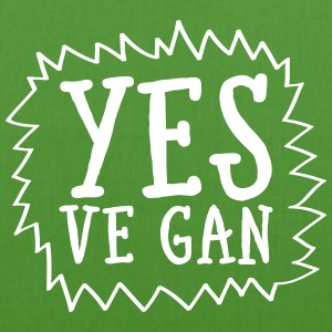 Yes Ve Gan Bags & Backpacks - EarthPositive Tote Bag