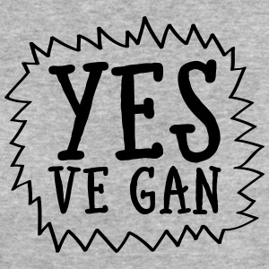 Yes Ve Gan T-shirts - Vrouwen Bio-T-shirt