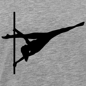 Pole dance, Acrobatics T-Shirts - Men's Premium T-Shirt