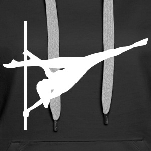 Pole dance, Acrobatics Hoodies & Sweatshirts - Women's Premium Hoodie