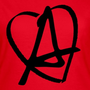 Love Anarchy T-shirts - Dame-T-shirt