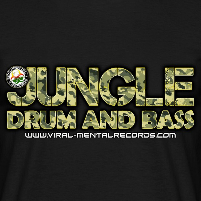 VMR Jungle DnB Mens T-Shirt