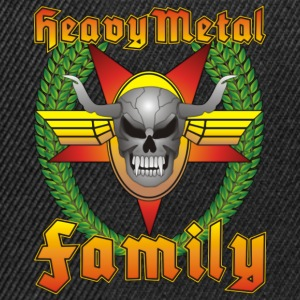 Heavy Metal Family Cap No.1 - Snapback Cap